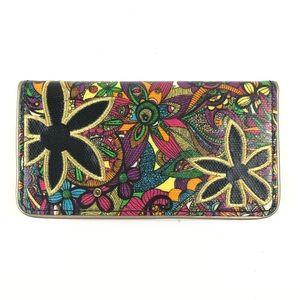 Sakroots Rainbow Spirit Floral Print Wallet